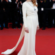 Jessica Chastain Clothes - Evening Dress