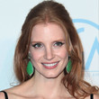 Jessica Chastain Hair - Half Up Half Down