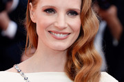 Jessica Chastain Long Hairstyles
