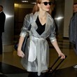 Jessica Chastain Clothes - Raincoat