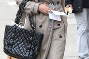Jessica Lucas Quilted Leather Bag