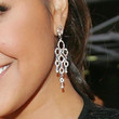 Jessica Mauboy Diamond Chandelier Earrings