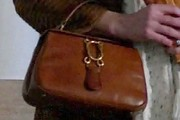 Jessica Pare Leather Tote