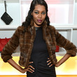 Jessica White Fur Coat