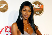 Jessica White Long Straight Cut