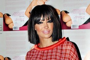 Jodie Marsh Short cut with bangs