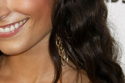 Jordana Brewster Gold Chandelier Earrings