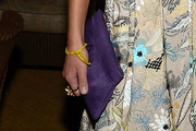 Jordana Brewster Satin Clutch