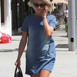 Julianne Hough Clothes - Denim Dress