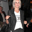 Julianne Hough Clothes - Leather Jacket