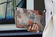 Julianne Hough Printed Clutch