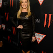 Julie Benz Clothes - Leather Dress