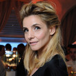 Julie Gayet Hair - Half Up Half Down