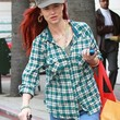 Juliette Lewis Clothes - Button Down Shirt
