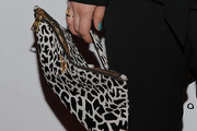 Kaley Cuoco Printed Clutch