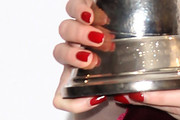 Karen Gillan Red Nail Polish