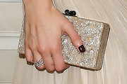 Karolina Kurkova Sequined Clutch