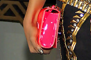 Kat Graham Patent Leather Clutch