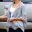 Kate Beckinsale Clothes - Cardigan