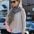 Kate Beckinsale Clothes - Crewneck Sweater