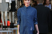 Kate Bosworth Denim Shirt