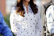 Kate Middleton Button Down Shirt