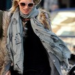 Kate Moss Patterned Scarf