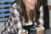 Katey Sagal Flannel Shirt