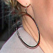Katherine Heigl Jewelry - Gold Hoops