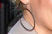 Katherine Heigl Gold Hoops