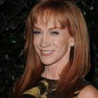 Kathy Griffin Medium Straight Cut with Bangs