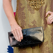 Kathy Griffin Patent Leather Clutch