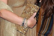 Kathy Hilton Sequined Clutch