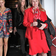 Kathy Hilton Clothes - Skirt Suit