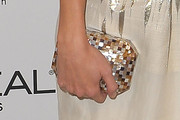 Katie Cassidy Gemstone Inlaid Clutch