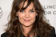 Katie Holmes Shoulder Length Hairstyles