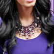 Katy Perry Gemstone Statement Necklace