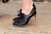 Keira Knightley High Heel Oxfords