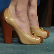 Keira Knightley Shoes - Platform Pumps