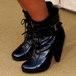 Keke Palmer Lace Up Boots