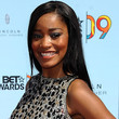Keke Palmer Long Side Part