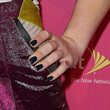 Kelly Osbourne Dark Nail Polish