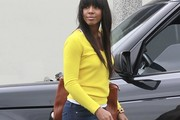 Kelly Rowland V-neck Sweater