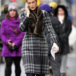 Kelly Rutherford Clothes - Wool Coat