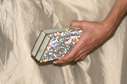 Keri Russell Gemstone Inlaid Clutch