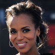 Kerry Washington Hair - Bobby Pinned updo