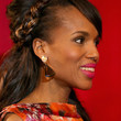 Kerry Washington Hair - Braided Updo
