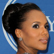 Kerry Washington Hair - Classic Bun