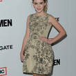 Kiernan Shipka Clothes - Print Dress