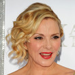 Kim Cattrall Pinned Up Ringlets